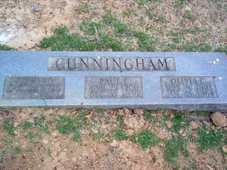 CUNNINGHAM, OLIVIA C - Cross County, Arkansas | OLIVIA C CUNNINGHAM - Arkansas Gravestone Photos