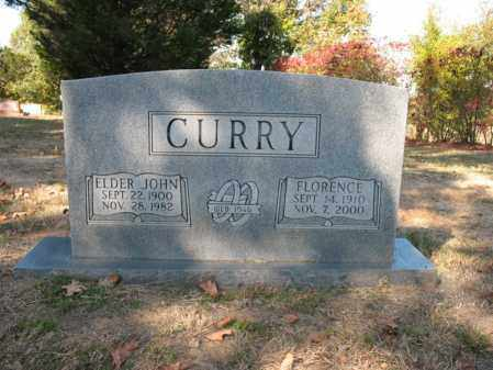 CURRY, ELDER JOHN - Cross County, Arkansas | ELDER JOHN CURRY - Arkansas Gravestone Photos
