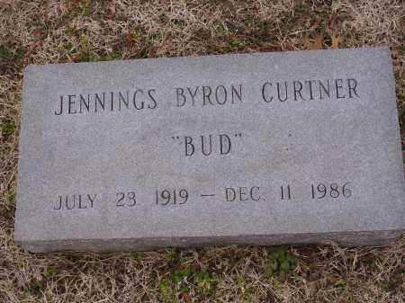 "CURTNER (VETERAN WWII), JENNINGS BRYON ""BUD"" - Cross County, Arkansas 