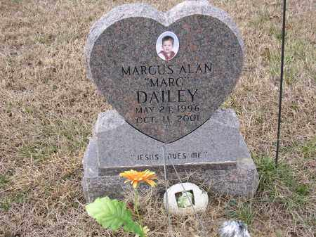 "DAILEY, MARCUS ALAN ""MARC"" - Cross County, Arkansas 