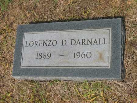 DARNALL, LORENZO D - Cross County, Arkansas | LORENZO D DARNALL - Arkansas Gravestone Photos