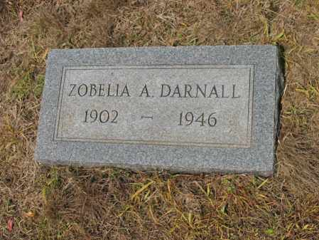 DARNALL, ZOBELIA A - Cross County, Arkansas | ZOBELIA A DARNALL - Arkansas Gravestone Photos