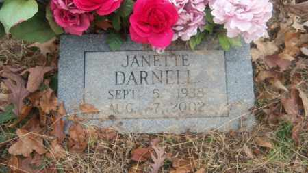 DARNELL, JANETTE - Cross County, Arkansas | JANETTE DARNELL - Arkansas Gravestone Photos