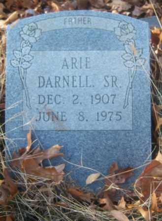 DARNELL, SR, ARIE - Cross County, Arkansas | ARIE DARNELL, SR - Arkansas Gravestone Photos