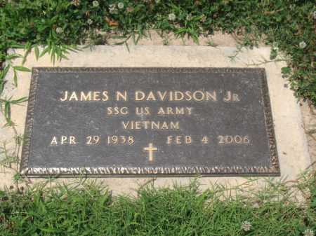 DAVIDSON, JR (VETERAN VIET), JAMES N - Cross County, Arkansas | JAMES N DAVIDSON, JR (VETERAN VIET) - Arkansas Gravestone Photos