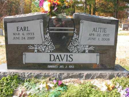 HOOD DAVIS, AUTIE - Cross County, Arkansas | AUTIE HOOD DAVIS - Arkansas Gravestone Photos