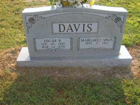 DAVIS, EDGAR B - Cross County, Arkansas | EDGAR B DAVIS - Arkansas Gravestone Photos