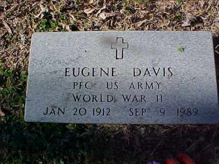 DAVIS  (VETERAN WWII), EUGENE - Cross County, Arkansas | EUGENE DAVIS  (VETERAN WWII) - Arkansas Gravestone Photos