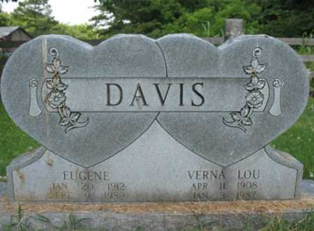 DAVIS, VERNA LOU - Cross County, Arkansas | VERNA LOU DAVIS - Arkansas Gravestone Photos