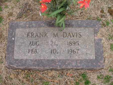 DAVIS, FRANK M - Cross County, Arkansas | FRANK M DAVIS - Arkansas Gravestone Photos