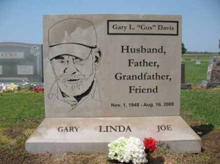 "DAVIS, GARY L ""GUS"" - Cross County, Arkansas | GARY L ""GUS"" DAVIS - Arkansas Gravestone Photos"