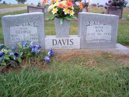 DAVIS, GEORGE - Cross County, Arkansas | GEORGE DAVIS - Arkansas Gravestone Photos
