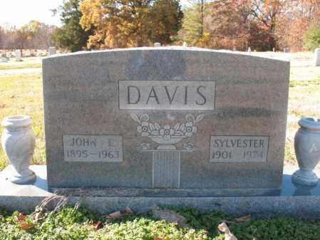 DAVIS, JOHN L - Cross County, Arkansas | JOHN L DAVIS - Arkansas Gravestone Photos