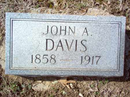 DAVIS, JOHN A - Cross County, Arkansas | JOHN A DAVIS - Arkansas Gravestone Photos