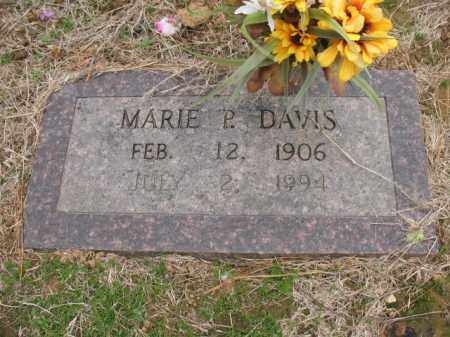 DAVIS, MARIE P - Cross County, Arkansas | MARIE P DAVIS - Arkansas Gravestone Photos
