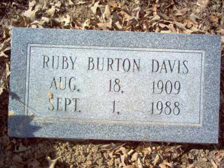 DAVIS, RUBY - Cross County, Arkansas | RUBY DAVIS - Arkansas Gravestone Photos