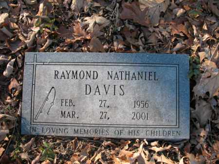 DAVIS, RAYMOND NATHANIEL - Cross County, Arkansas | RAYMOND NATHANIEL DAVIS - Arkansas Gravestone Photos