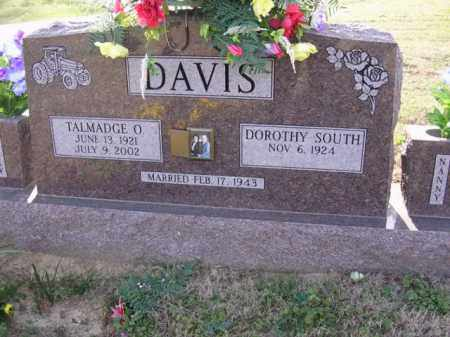 DAVIS, TALMADGE O - Cross County, Arkansas | TALMADGE O DAVIS - Arkansas Gravestone Photos