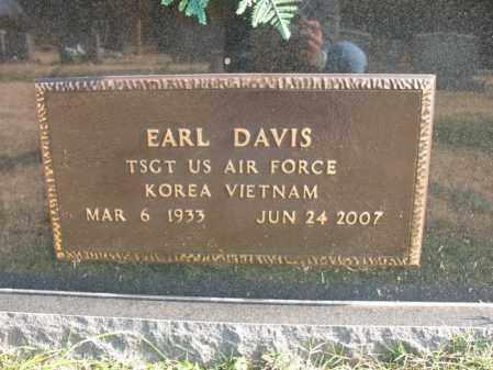 DAVIS (VETERAN 2 WARS), EARL - Cross County, Arkansas | EARL DAVIS (VETERAN 2 WARS) - Arkansas Gravestone Photos