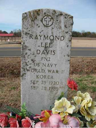 DAVIS (VETERAN 2 WARS), RAYMOND LEE - Cross County, Arkansas | RAYMOND LEE DAVIS (VETERAN 2 WARS) - Arkansas Gravestone Photos