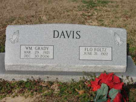 DAVIS, WILLIAM GRADY - Cross County, Arkansas | WILLIAM GRADY DAVIS - Arkansas Gravestone Photos