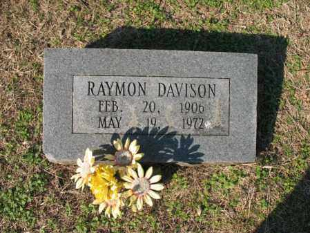 DAVISON, RAYMON - Cross County, Arkansas | RAYMON DAVISON - Arkansas Gravestone Photos