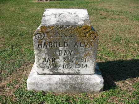 DAY, HAROLD ALVA - Cross County, Arkansas | HAROLD ALVA DAY - Arkansas Gravestone Photos