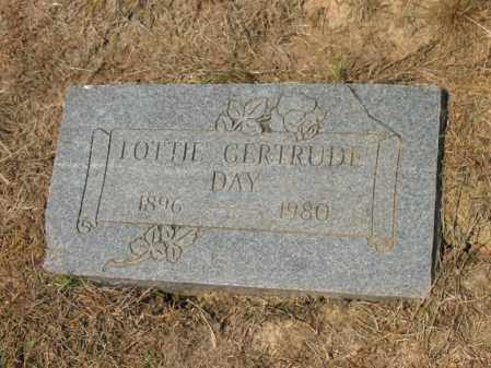 DAY, LOTTIE GERTRUDE - Cross County, Arkansas | LOTTIE GERTRUDE DAY - Arkansas Gravestone Photos