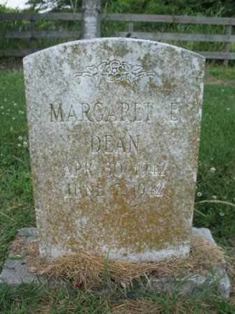 DEAN, MARGARET E - Cross County, Arkansas | MARGARET E DEAN - Arkansas Gravestone Photos