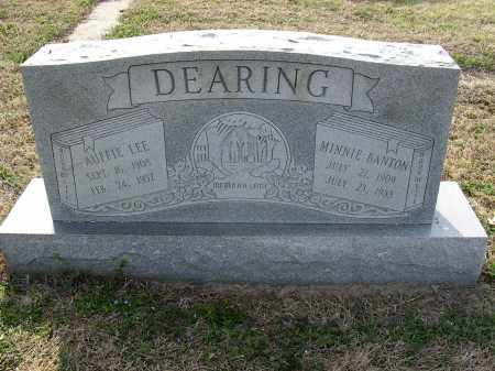 BANTON DEARING, MINNIE - Cross County, Arkansas | MINNIE BANTON DEARING - Arkansas Gravestone Photos