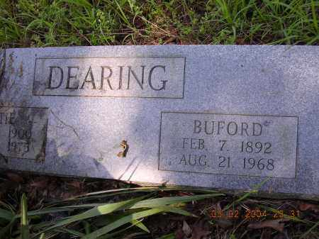 DEARING, BUFORD - Cross County, Arkansas | BUFORD DEARING - Arkansas Gravestone Photos