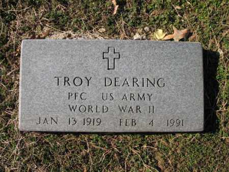 DEARING (VETERAN WWII), TROY - Cross County, Arkansas | TROY DEARING (VETERAN WWII) - Arkansas Gravestone Photos