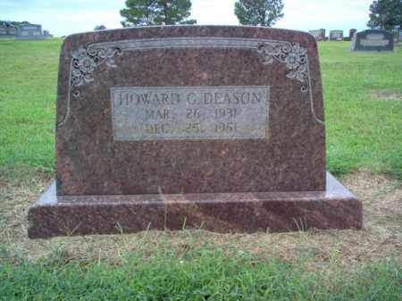 DEASON, HOWARD G - Cross County, Arkansas | HOWARD G DEASON - Arkansas Gravestone Photos