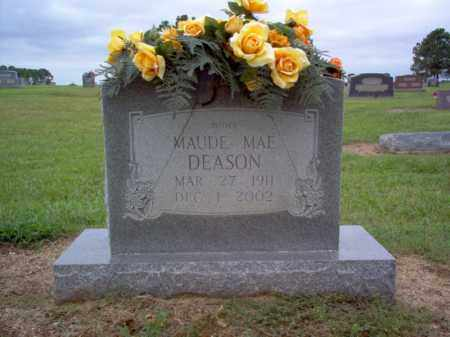 DEASON, MAUDE MAE - Cross County, Arkansas | MAUDE MAE DEASON - Arkansas Gravestone Photos