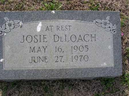 DELOACH, JOSIE - Cross County, Arkansas | JOSIE DELOACH - Arkansas Gravestone Photos