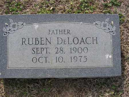 DELOACH, RUBEN - Cross County, Arkansas | RUBEN DELOACH - Arkansas Gravestone Photos