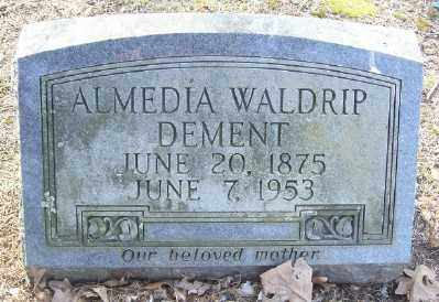 WALDRIP DEMENT, ALMEDIA - Cross County, Arkansas | ALMEDIA WALDRIP DEMENT - Arkansas Gravestone Photos