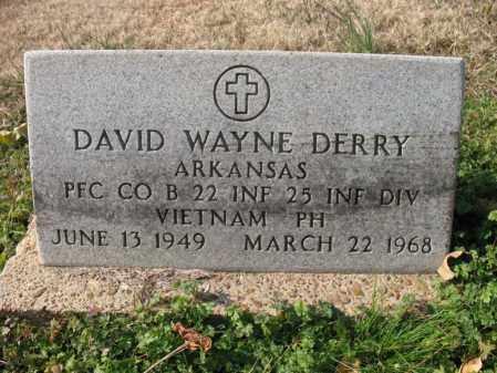 DERRY (VETERAN VIET, KIA), DAVID WAYNE - Cross County, Arkansas | DAVID WAYNE DERRY (VETERAN VIET, KIA) - Arkansas Gravestone Photos