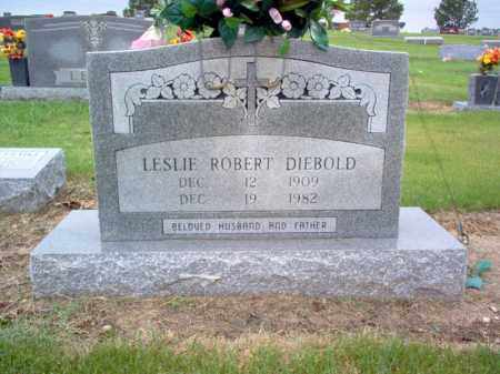 DIEBOLD, LESLIE ROBERT - Cross County, Arkansas | LESLIE ROBERT DIEBOLD - Arkansas Gravestone Photos