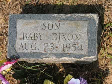 DIXON, BABY - Cross County, Arkansas | BABY DIXON - Arkansas Gravestone Photos
