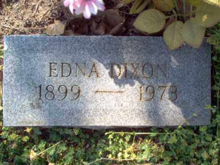 DIXON, EDNA - Cross County, Arkansas | EDNA DIXON - Arkansas Gravestone Photos