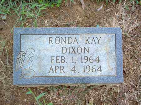 DIXON, RONDA KAY - Cross County, Arkansas | RONDA KAY DIXON - Arkansas Gravestone Photos