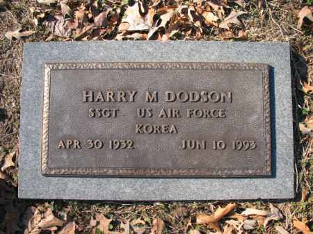 DODSON (VETERAN KOR), HARRY M - Cross County, Arkansas | HARRY M DODSON (VETERAN KOR) - Arkansas Gravestone Photos