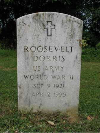 DORRIS (VETERAN WWII), ROOSEVELT - Cross County, Arkansas | ROOSEVELT DORRIS (VETERAN WWII) - Arkansas Gravestone Photos