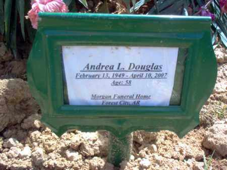 DOUGLAS, ANDREA L - Cross County, Arkansas | ANDREA L DOUGLAS - Arkansas Gravestone Photos