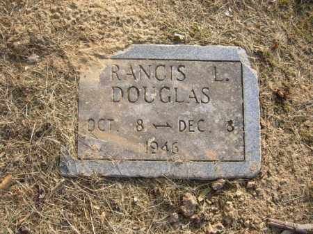 DOUGLAS, FRANCIS L - Cross County, Arkansas | FRANCIS L DOUGLAS - Arkansas Gravestone Photos