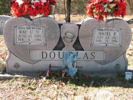 DOUGLAS, RAY U V - Cross County, Arkansas | RAY U V DOUGLAS - Arkansas Gravestone Photos