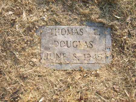 DOUGLAS, THOMAS E - Cross County, Arkansas | THOMAS E DOUGLAS - Arkansas Gravestone Photos