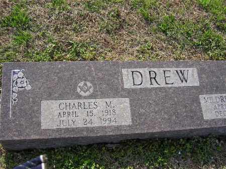 DREW, CHARLES M - Cross County, Arkansas | CHARLES M DREW - Arkansas Gravestone Photos