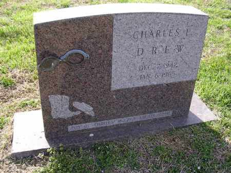 DREW, CHARLES E - Cross County, Arkansas | CHARLES E DREW - Arkansas Gravestone Photos